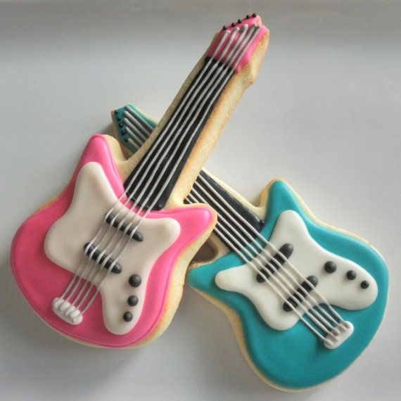 guitar cookie - Google Search