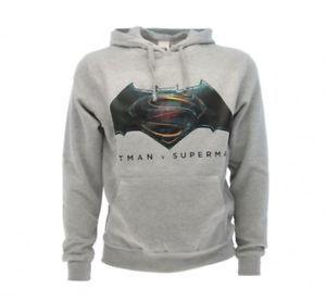 Felpa con cappuccio BATMAN v SUPERMAN taglia XS idea regalo   eBay