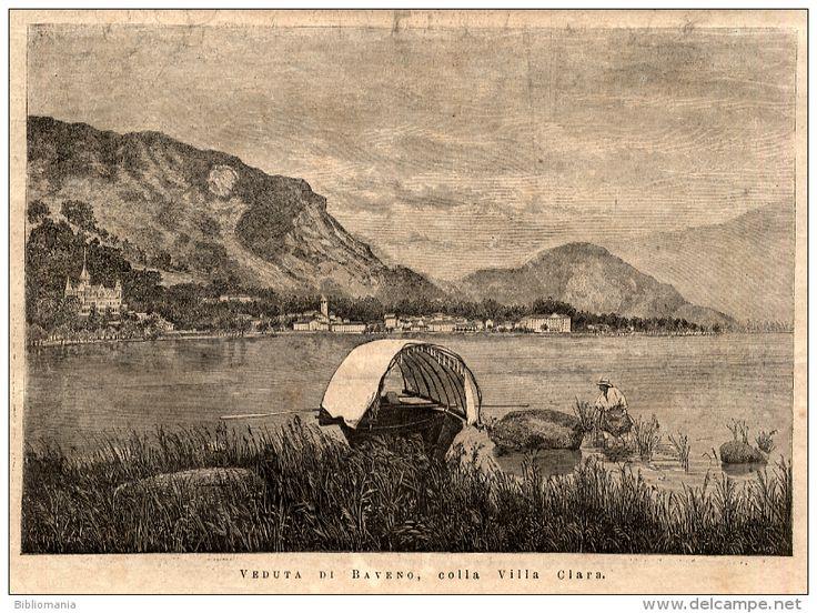 Rivista del 1879 Veduta di BAVENO