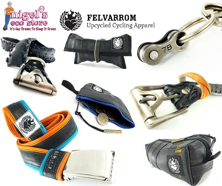 We're on the prowl for new stock. What do you think of this new range of upcycled cycle bits?