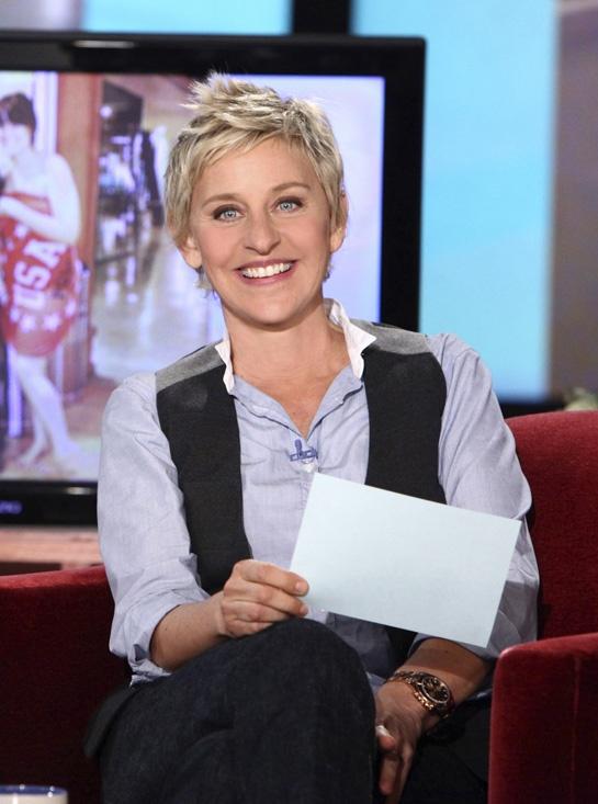 Ellen DeGeneres---> a great comedian