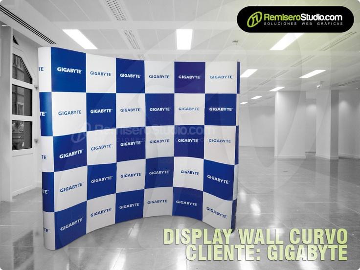 Display Wall Curvo 3.44 x 2.32mts para GIGABYTE TECHNOLOGY SAC