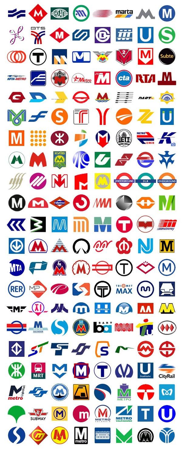 Le métro à travers le monde #logo