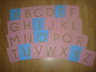 diy lettres rugueuses majuscules