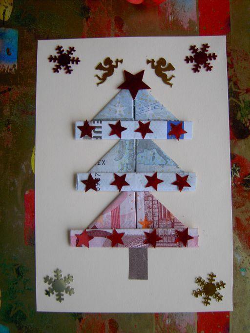 Geldgeschenk zu Weihnachten