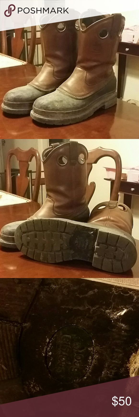 Men's Steel Toe Muck Boots Men's Steel Toe Muck Boots. Size 11M. Really great condition. Made by Georgia Boots. Will consider all offers. Georgia Boots Shoes