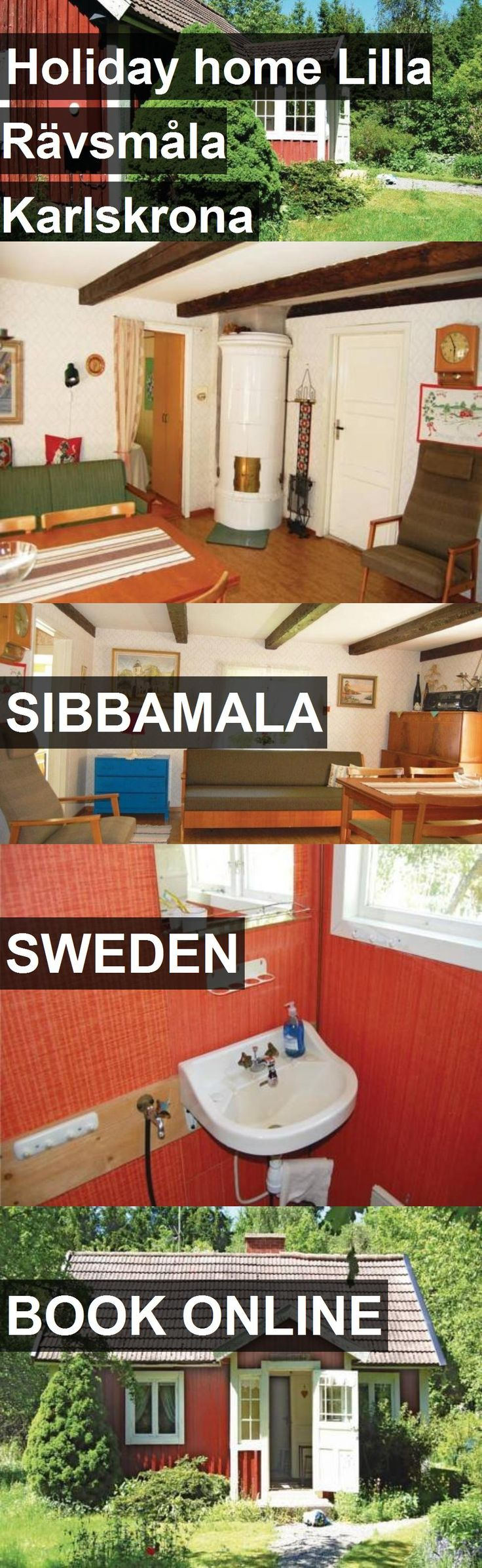 Hotel Holiday home Lilla Rävsmåla Karlskrona in Sibbamala, Sweden. For more information, photos, reviews and best prices please follow the link. #Sweden #Sibbamala #travel #vacation #hotel