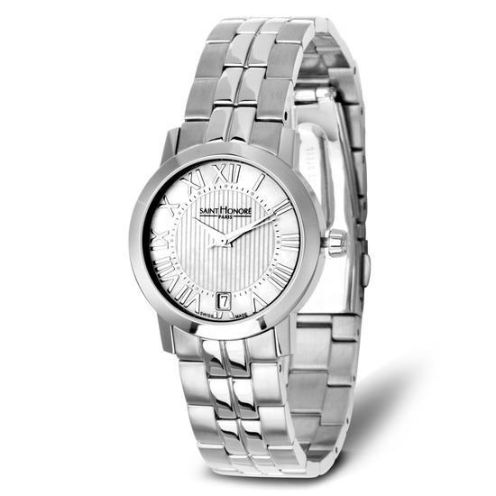 Zegarek Saint Honoré Paris, 2395 PLN www.YES.pl/51087-zegarek-saint-honore-paris-TC32384-S0S00-000000-000 #jewellery #Watches #BizuteriaYES #watch #silver #elegant #classy #style #buy #Poland