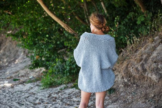 Check out this item in my Etsy shop https://www.etsy.com/listing/245190906/oversized-hand-knit-sweater-chunky
