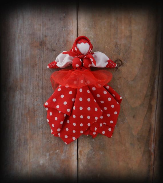 Handmade doll toy Christmas doll Rag Doll Baby by GabriCollection