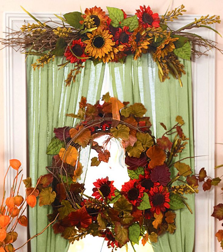 1000 ideas about fall window decorations on pinterest for Autumn window decoration
