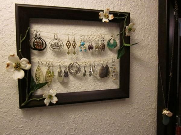 earring holder!