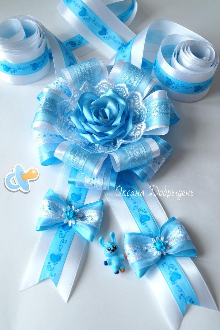 #itsaboy #twotone #giftbow #ribbon