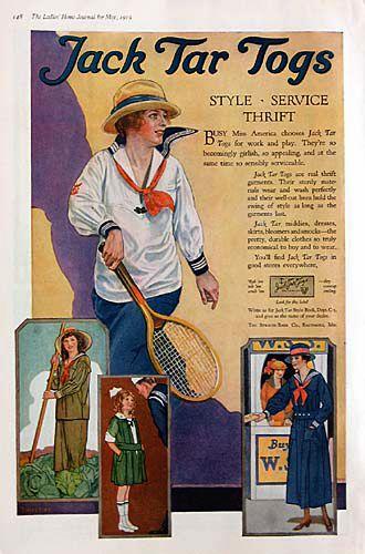 Jack Tar Togs 1919 | Flickr - Photo Sharing!