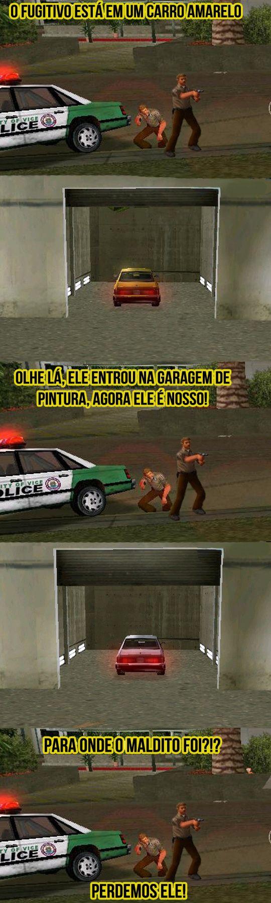 Policiais mais espertos da história do videogame.