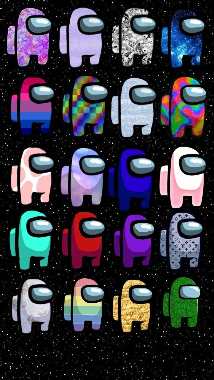 Among Us Angy Emoji Wallpaper Iphone Pretty Wallpaper Iphone Rainbow Wallpaper Iphone