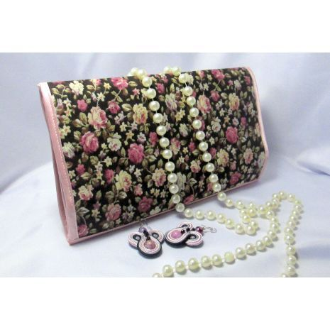 Bags & Purses :: Other Bags :: Luggage & Travel :: Provence Travel jewelry organizer Travel jewelry roll Travel jewelry case - Lavky.com
