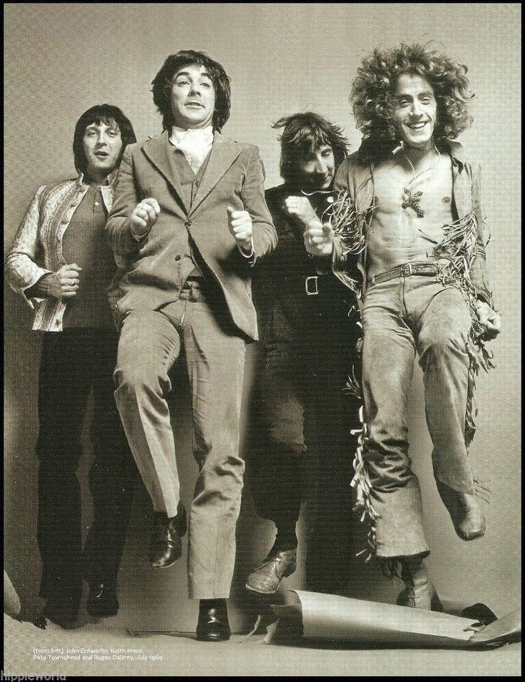 The Who Band 1969 Pete Townshend Keith Moon John Entwistle 2009 Pinup Photo   eBay
