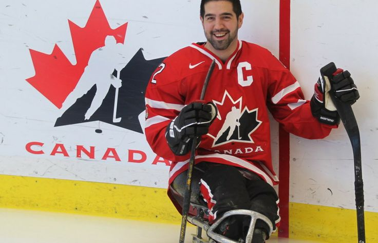 Greg Westlake, sledge hockey