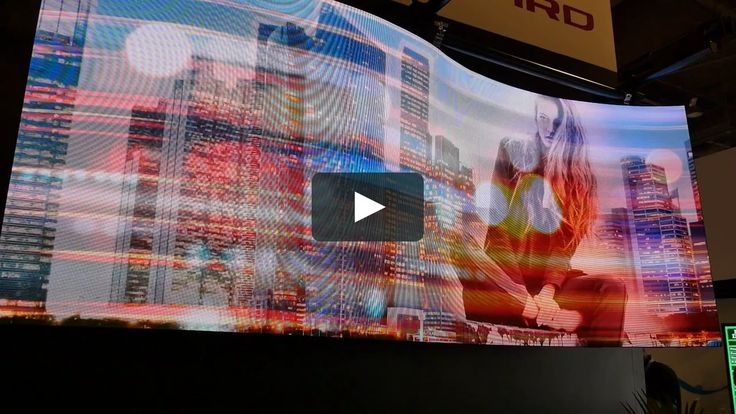 This video showcases the Leyard CarbonLight CLA Series LED Video Wall at InfoComm 2016 in Las Vegas, Nevada.