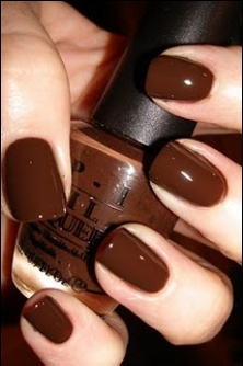 dark chocolate brown nails... @Karen Jacot Jacot Thrasher is this where you got…