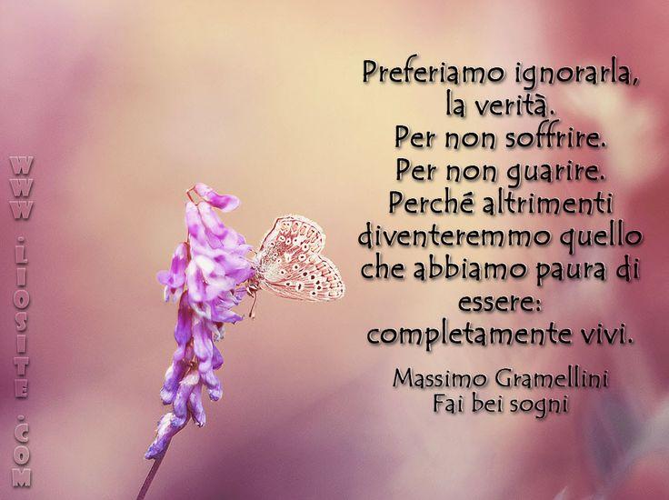 Massimo Gramellini - Preferiamo ignorarla, la verità...