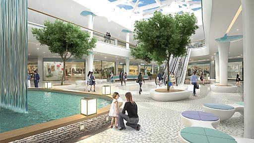 Die neue Shopping City Süd: Österreichs größtes Einkaufszentrum: Nach Umbau moderner, heller und grüner | Fotograf: Saguez & Partner | Credit:Saguez & Partner | Mehr Informationen und Bilddownload in voller Auflösung: http://www.ots.at/presseaussendung/OBS_20120823_OBS0010