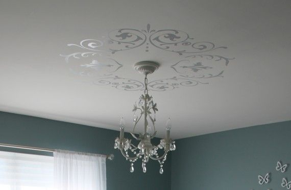Decorative Wall & Ceiling Vinyl Decals Shabby Chic or by leelyn