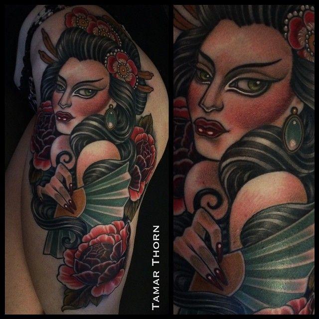 Tamar Thorn Tattoo