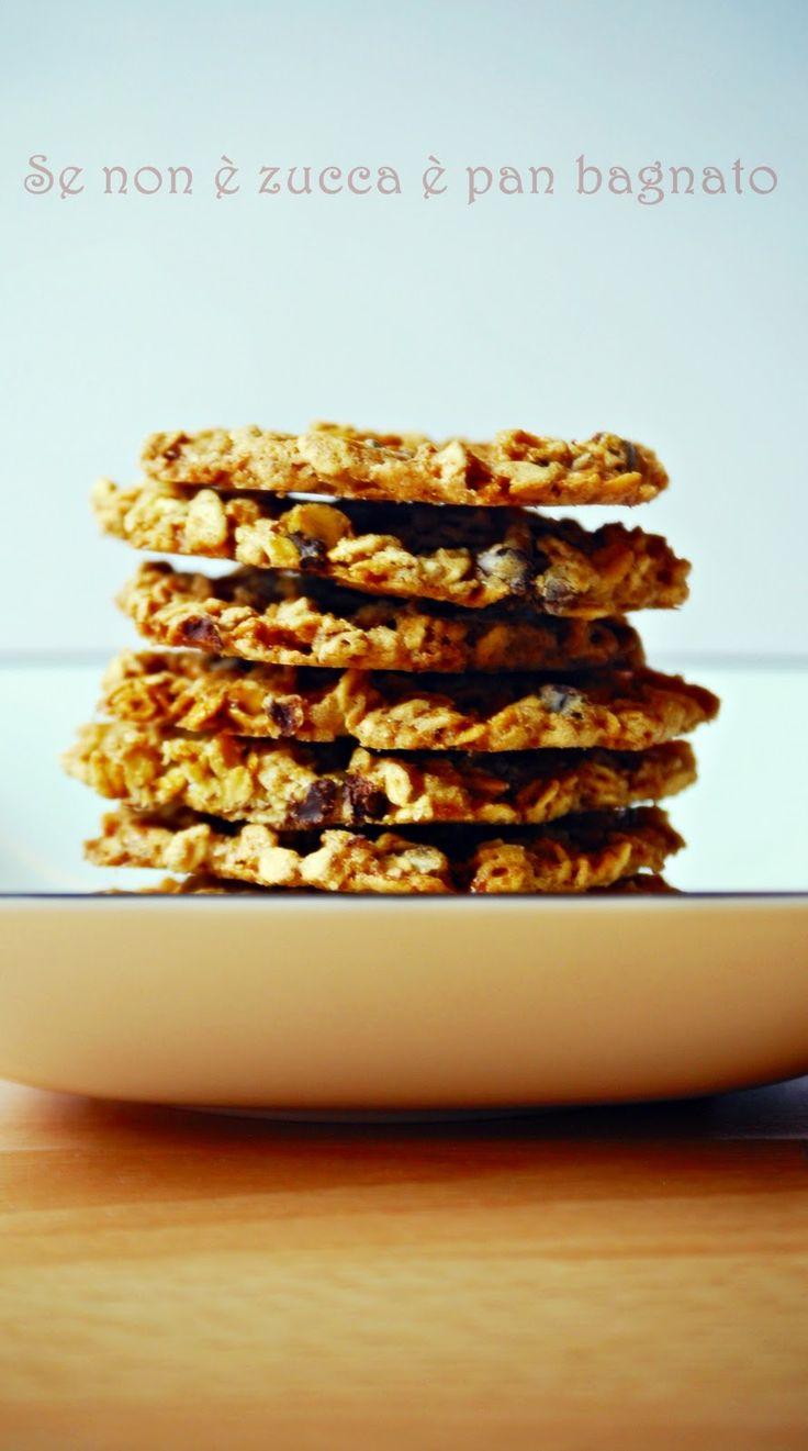 Se non è zucca è pan bagnato: Biscotti svedesi avena e cioccolato