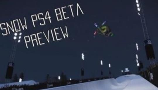 SNOW PS4 Beta Video Preview | Entertainment Buddha