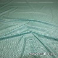 Сорочечная купон (0,92м) (н) бирюзово-зеленый орнамент - интернет магазин тканей Тессутидея