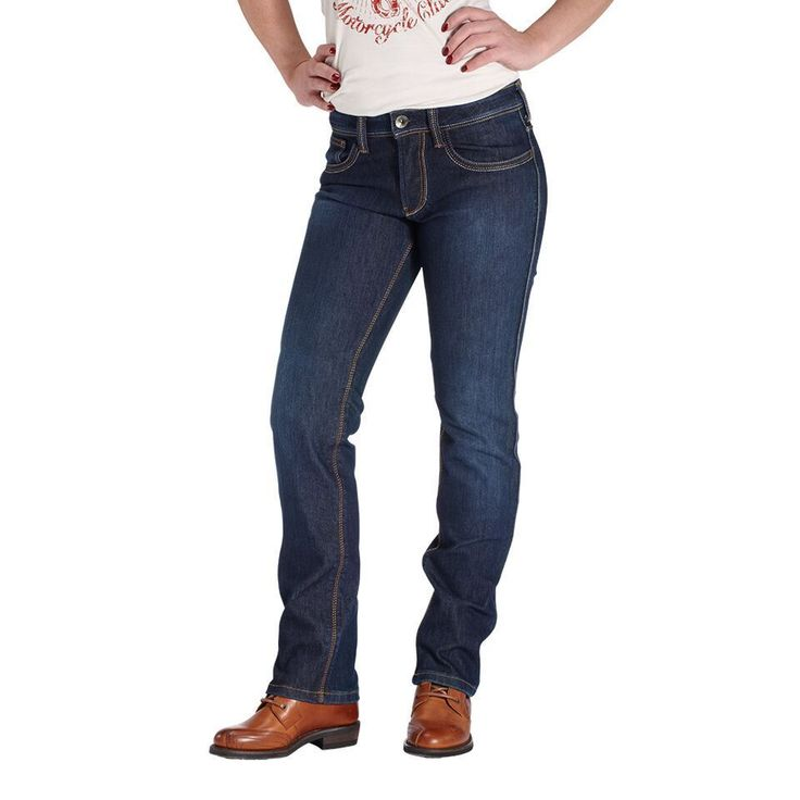 """ROKKER """"Revolution Lady"""" - waterproof and abrasion-resistant high tech motorcycle jeans"""