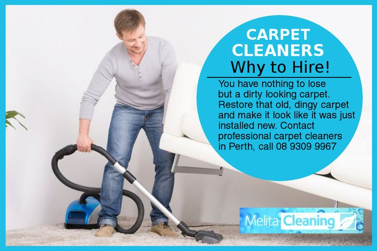 Carpet Cleaners – Why to Hire! - You have nothing to lose but a dirty looking carpet. Restore that old, dingy carpet and make it look like it was just installed new. Contact professional carpet cleaners in Perth, call 08 9309 9967