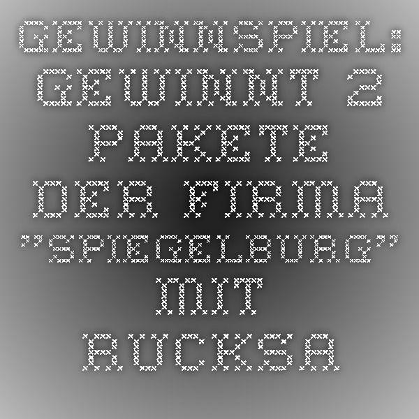 """Gewinnspiel: Gewinnt 2 Pakete der Firma """"Spiegelburg"""" mit Rucksack, Tasche, Brotbox, Trinkflasche, Becher, Portemonaie - ReisemeistereiReisemeisterei"""