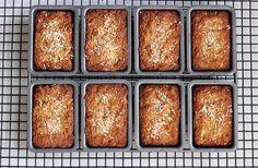 Grain-Free Banana Coconut Mini-Loaves - Gluten-free, Dairy-free + Refined Sugar-free by Tasty Yummies, via Flickr