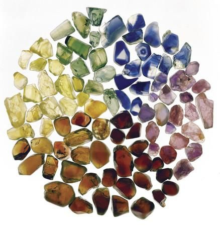 A range of Sapphires and Zircons from Inverell, New England region of NSW. Which colour is your favourite?