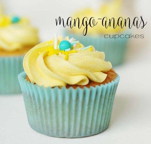 recept ananas cupcakes