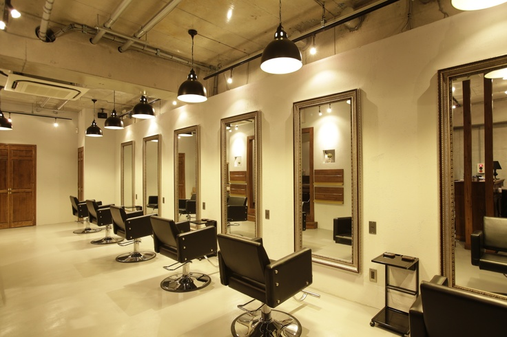 Beauty salon interior design ideas hair space for Salone design