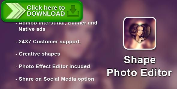 [ThemeForest]Free nulled download Shape Photo Editor + Photo Shape With Admob Interstitial , Banner and Native ads from http://zippyfile.download/f.php?id=53311 Tags: ecommerce, Admob Interstitial  Banner and Native ads, background, editing, gallery, image, overlay, photo, photo editor, photo shape, Photo Shape Editor, shape, social media, sticker, text, Ux Ui