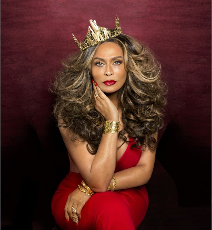 "Melinda: ""I simply am"" wear black dress...  Mrs.Tina Knowles Lawson- super hot."