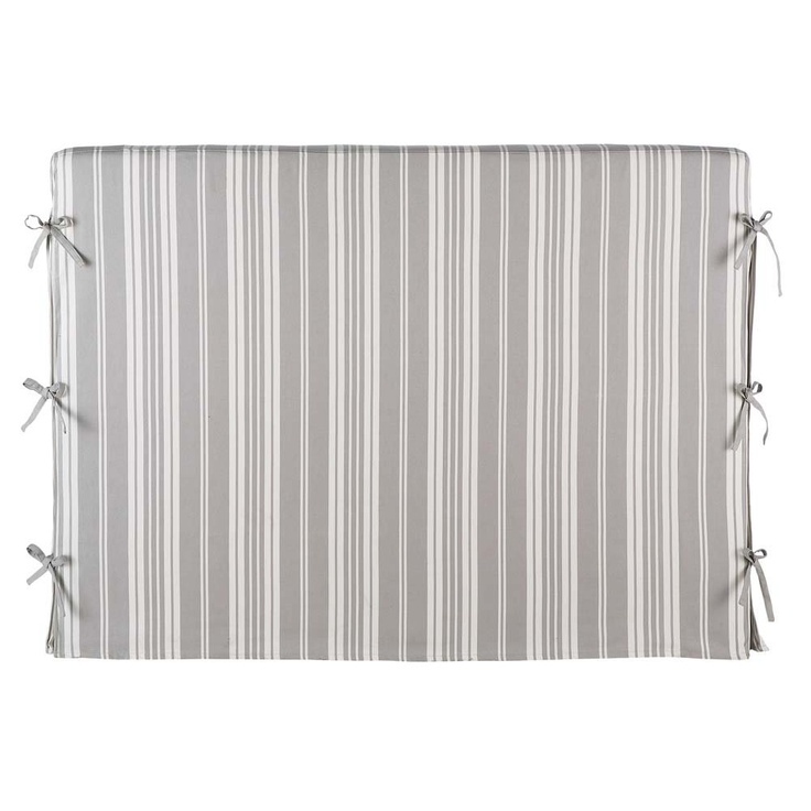Headboard cover with ties, Maison du Monde