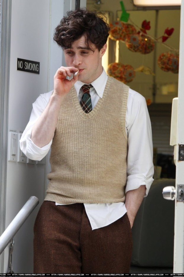"Dan Radcliffe in Killing Your Darlings  ""Burning Furiously Beautiful: The True Story of Jack Kerouac's 'On the Road,'"" the book I'm coauthoring with Paul Maher Jr., tells the story behind the film ""Kill Your Darlings."" #BFB"