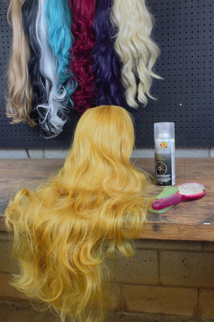 Silicone Spray for Detangling Wigs Wigs and Sprays