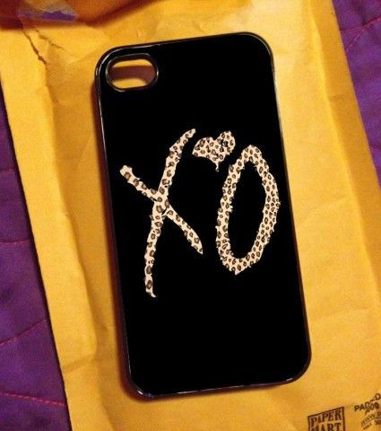 THE WEEKND XO Leopard Nebula Galaxy Space iPhone Case And Samsung Galaxy Case
