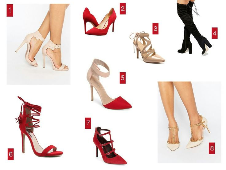 Valentine's day shoes ideas