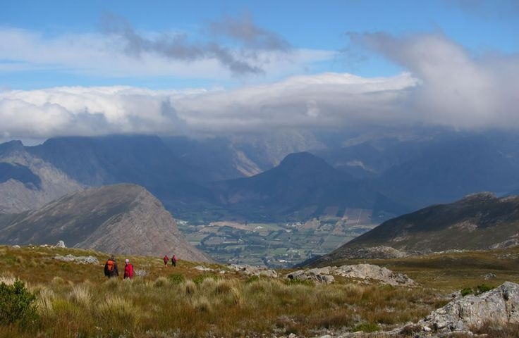 Franschhoek  - Views from Mont Rochelle