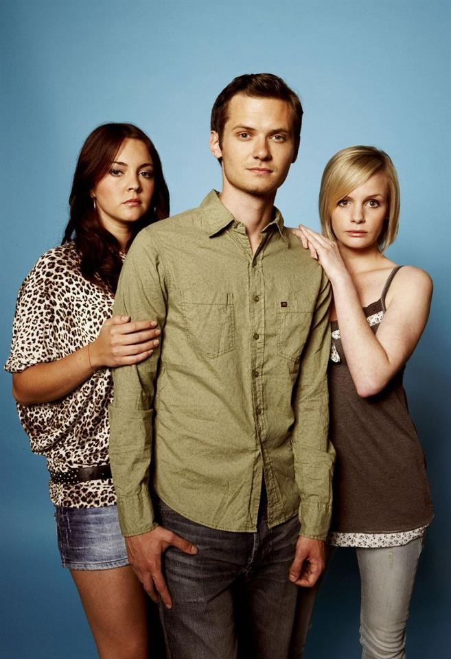 Stacey Slater, Callum Monk and Danielle Jones played by Lacey Turner, Elliot Jordan and Lauren Grace.