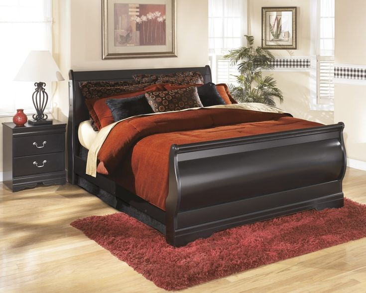 Get Your Huey Vineyard Queen Sleigh Bed At Furniture Factory Outlet, Warsaw  IN Furniture Store.