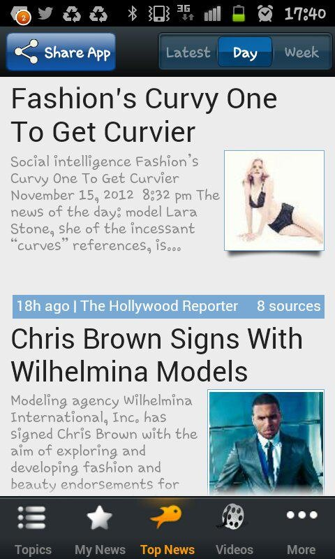 This is sooo cool! All the fashion news in your mobile! the new app is available now! http://fashion.riversip.com/main/
